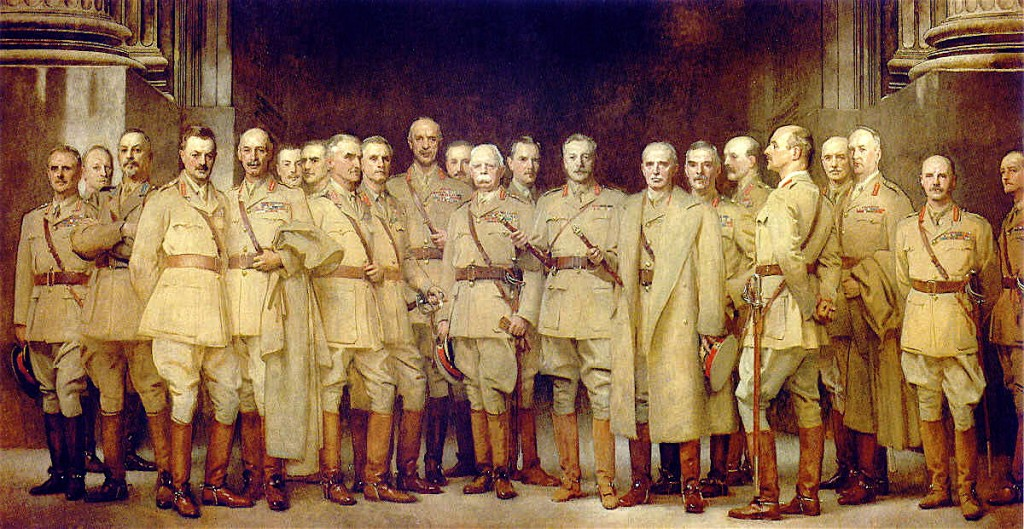 General Officers Of The Great War by John Singer Sargent